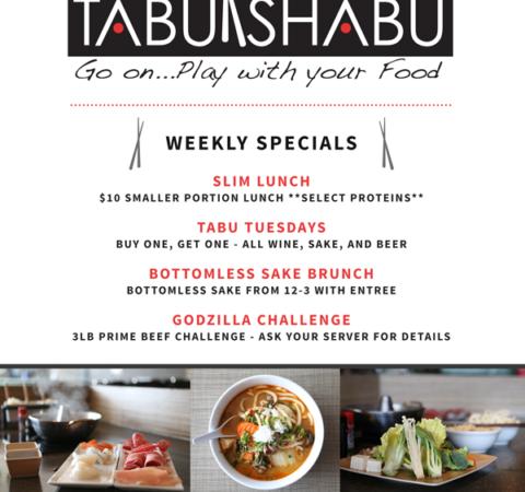 Tabu Shabu Print Ad